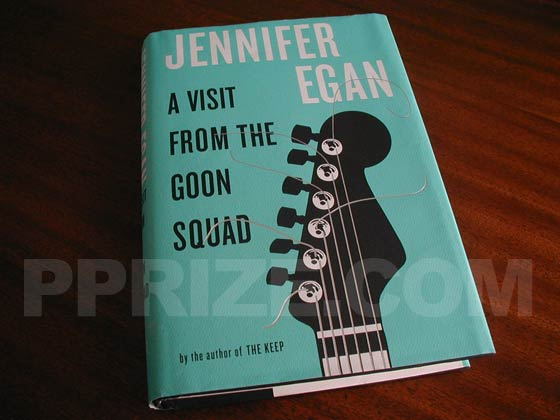 Picture of the 2010 first edition dust jacket for A Visit from the Goon Squad.