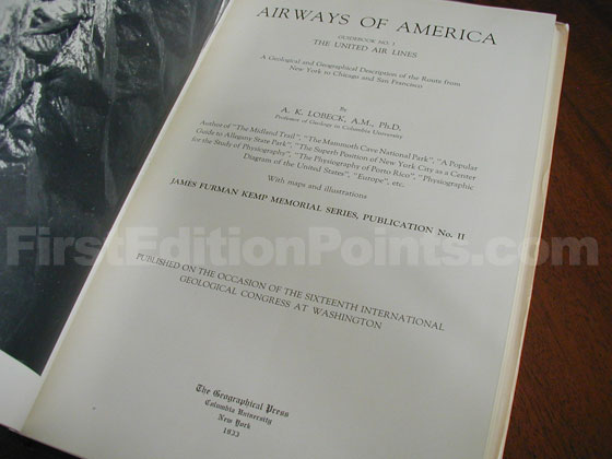 Identification picture of Airways of America.