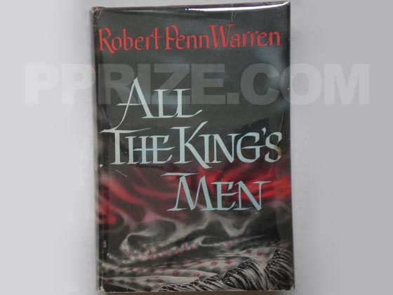 Picture of the 1946 first edition dust jacket for All the King's Men.