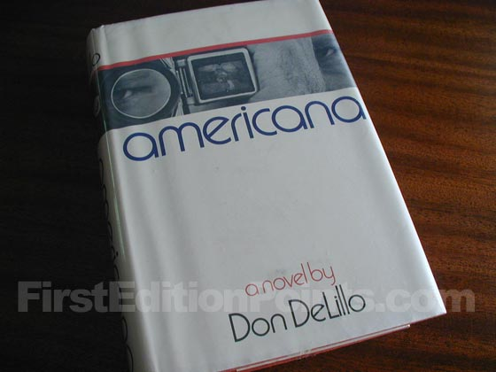 Picture of the 1971 first edition dust jacket for Americana.