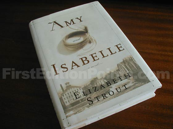 Picture of the 1998 first edition dust jacket for Amy and Isabelle.