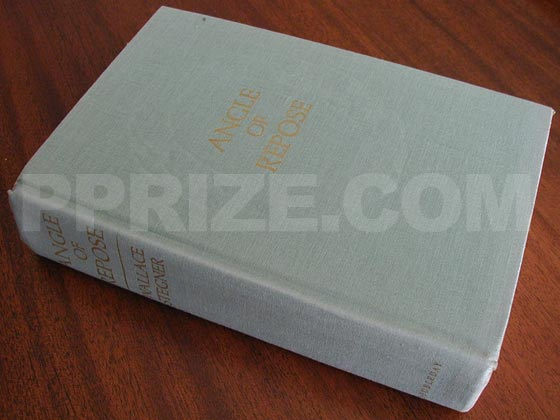 Picture of the first edition Doubleday boards for Angle of Repose.