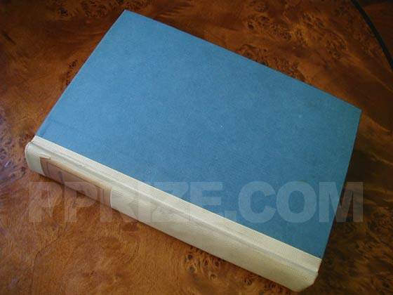 Photo of the first edition of Arrowsmith.  It was issued on handmade paper, numbered, and