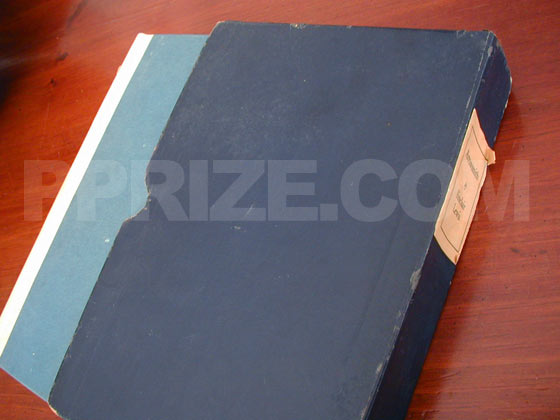 The true first edition of Arrowsmith was issued in a blue cardboard slipcase.  The extra