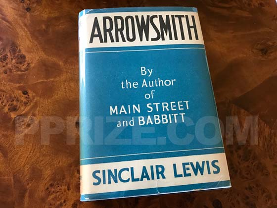 Arrowsmith first trade edition dust jacket