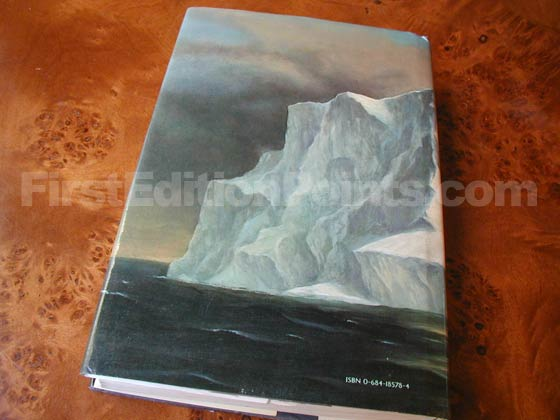 Picture of the back dust jacket for the first edition of Artic Dreams.