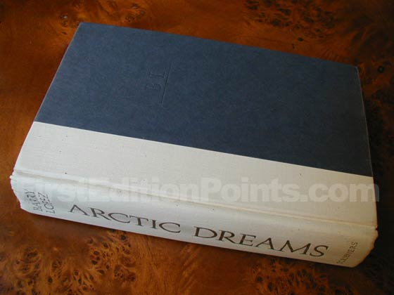 Picture of the first edition Scribners boards for Artic Dreams.