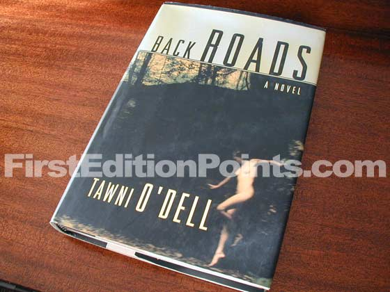 Picture of the 2000 first edition dust jacket for Back Roads.