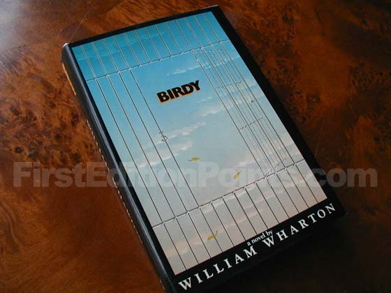 Picture of the 1979 first edition dust jacket for Birdy.