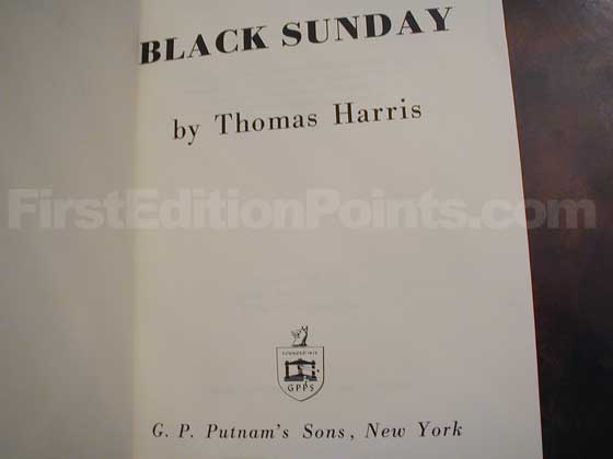 Identification picture of Black Sunday.