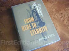 First Edition of From Here to Eternity