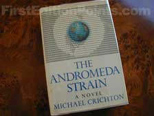 First Edition of The Andromeda Strain