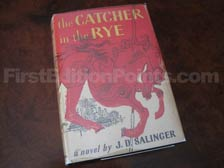First Edition of The Catcher in the Rye