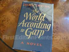 First Edition of The World According to Garp