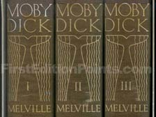 First Edition of Moby Dick (Illustrated by Rockwell Kent)