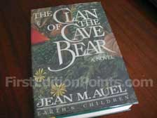 First Edition of The Clan of the Cave Bear