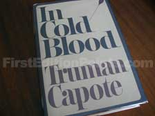 First Edition of In Cold Blood
