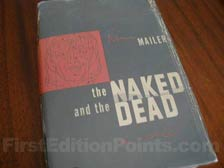 First Edition of The Naked and the Dead