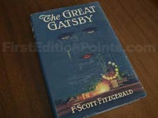 First Edition of The Great Gatsby