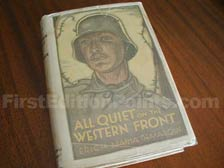 First Edition of All Quiet on the Western Front
