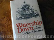 First Edition of Watership Down (U.S.)