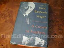 First Edition of A Crown of Feathers