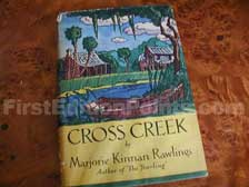 First Edition of Cross Creek