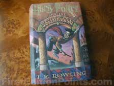 First Edition of Harry Potter and the Sorcerer