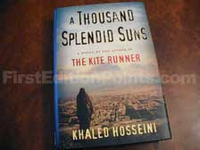 First Edition of A Thousand Splendid Suns