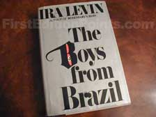 First Edition of The Boys from Brazil