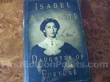 First Edition of Daughter of Fortune