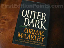 First Edition of Outer Dark