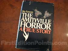 First Edition of The Amityville Horror