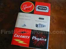 First Edition of Special Topics in Calamity Physics