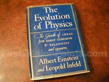 First Edition of The Evolution of Physics (U.S.)