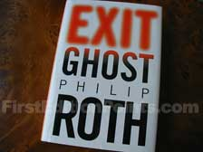 First Edition of Exit Ghost