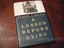 First Edition of A Lession Before Dying