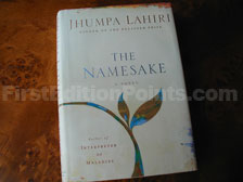 First Edition of The Namesake