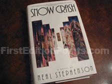 First Edition of Snow Crash