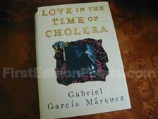 First Edition of Love in the Time of Cholera (First American)