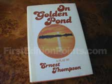 First Edition of On Golden Pond