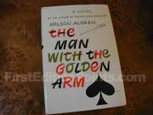 First Edition of The Man with the Golden Arm