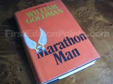 First Edition of Marathon Man