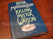 First Edition of Killing Mister Watson