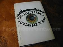 First Edition of The Lazarus Project