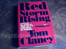 First Edition of Red Storm Rising