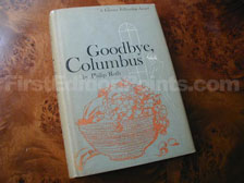 First Edition of Goodbye, Columbus