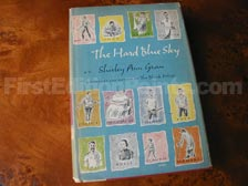 First Edition of The Hard Blue Sky