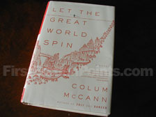 First Edition of Let the Great World Spin