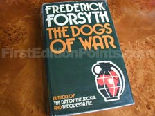 First Edition of The Dogs of War (UK)